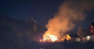 Kolejny pożar stodoły w Ochotnicy Dolnej