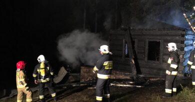 Czerwienne Górne – pożar bacówki na Bachledówce