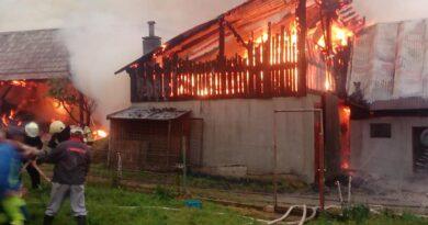Strażacy z Suchej Hory publikują szczegóły pożaru niedaleko granicy z Polską