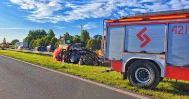 Na A4 zginęło dwoje mieszkańców Podhala