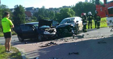 Groźny wypadek w Klikuszowej