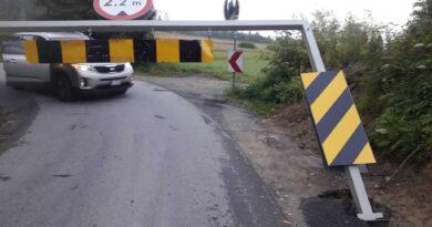 Strażacy usunęli zagrożenie na moście w Pyzówce