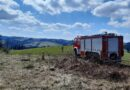 Pożar traw przy zakopiance (zdjęcia)
