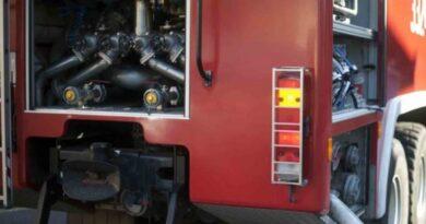 Pożar w Poroninie – trudna akcja gaśnicza