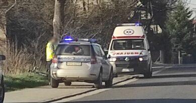 Rowerzyści zostali zaatakowani przez psa (zdjęcia)