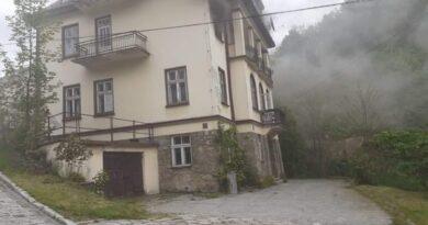 Pożar pustostanu w Szczawnicy (zdjęcia)