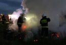 Kolejne ognisko gaszone przez strażaków (zdjęcia)