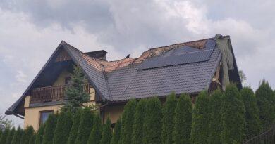 Pożar w budynku mieszkalnym (zdjęcia)
