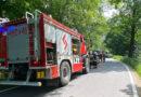 Strażacy ugasili BMW (zdjęcia)