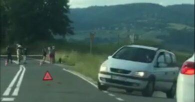 Tragiczne zderzenie motocyklisty z samochodem (zdjecia)