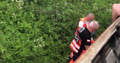 Tragiczna śmierć na torach w Szaflarach (zdjęcia)