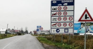 W poniedziałek, 5 lipca kolejne ograniczenia dla wjeżdżających na Słowację