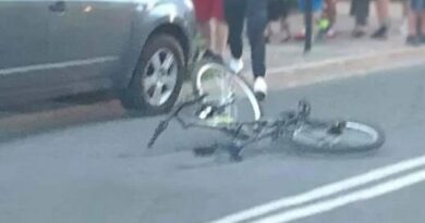 Zakopane – potrącony rowerzysta zabrany do szpitala