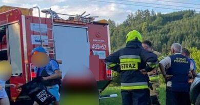 Strażacy uratowali dwie kajakarki