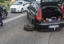 Zderzenie samochodów na zakopiance (zdjęcia)