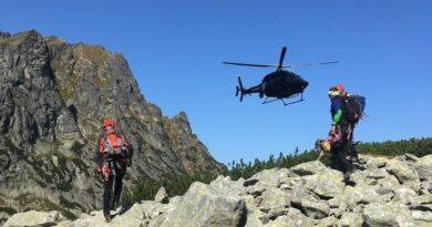 Śmierć turysty w Tatrach