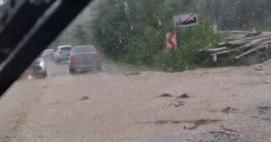 Witów – zalane drogi i posesje (zdjęcia)